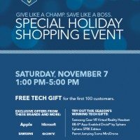 Best Buy Holiday Shopping Event – Tech Galore