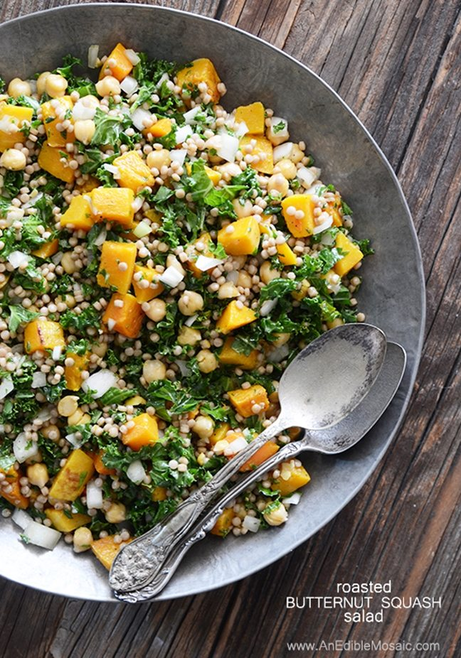 Roasted-Butternut-Squash-Salad-with-Chickpeas-Kale-and-Pearl-Couscousediblemosaic