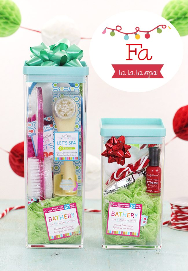 Spa la la la la DIY Spa Gift Ideas galore.  sc 1 st  Cutefetti & DIY Spa Gift Idea: Fa La La La Spa or Spa La La La La? | Cutefetti