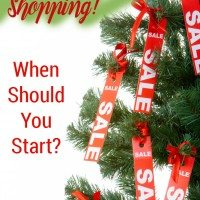 When Should You Start Holiday Shopping?
