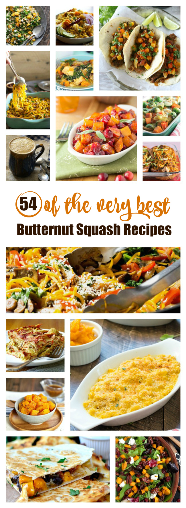 Nom nom. Butternut Squash is THE MAN. Here are endless recipes to try.