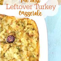Best Leftover Turkey Casserole