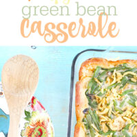 Classic Green Bean Casserole Just Got Upgraded