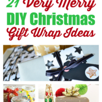 21 Very Merry DIY Christmas Gift Wrap Ideas