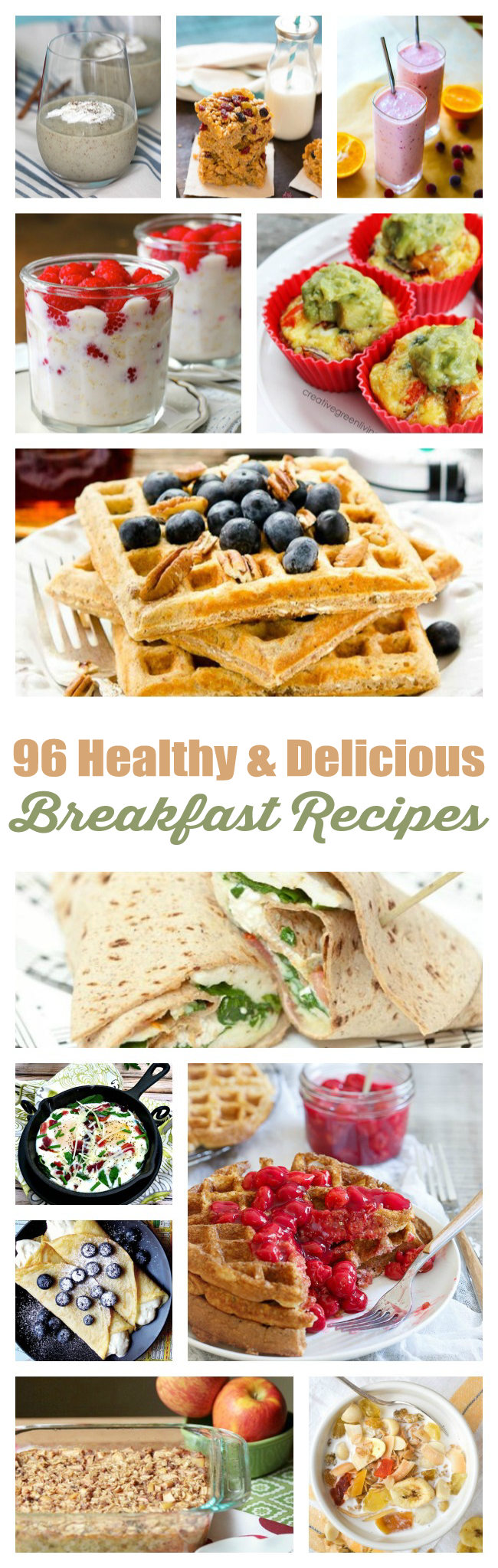 Win at mornings with these 96 healthy breakfast recipes that don't suck.