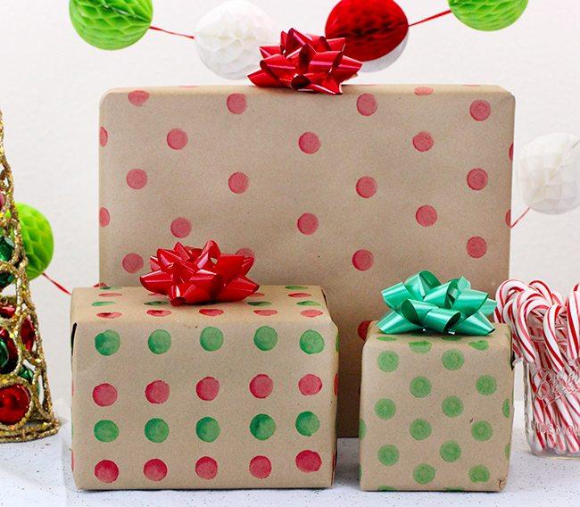 DIY Bingo Marker Wrapping Paper in memory of Grandma Jane