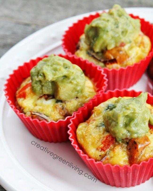 paleo omelette muffinscreativegreenliving