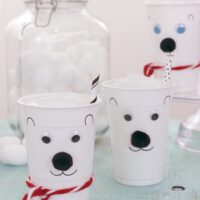 Norm Of The North Fun? Make DIY Polar Bear Cups!