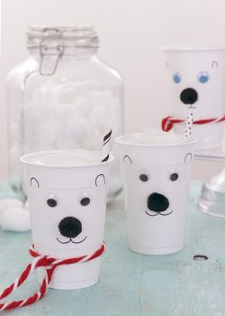 Norm Of The North Fun? Make DIY Polar Bear Cups!