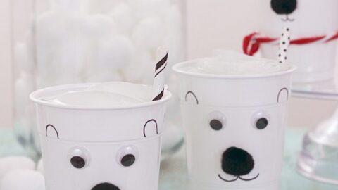 Make DIY Polar Bear Cups!