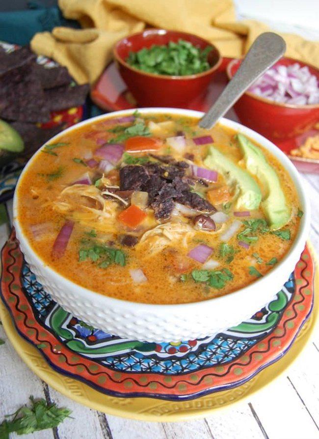 3-Slow-Cooker-Mexican-Cheesy-Chicken-A cedar spoon