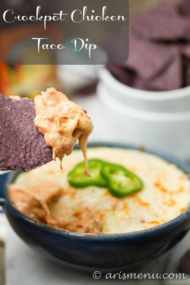 Crockpot-Chicken-Taco-Dip2ari's menu