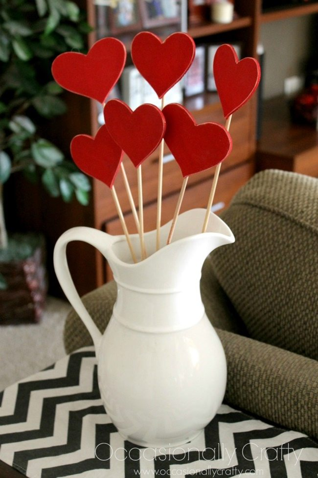 Heart Skewers Valentine's Day Decor occasionally vrafty