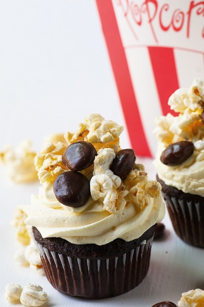 Movie-Popcorn-and-Milk-Dud-Cupcakes-culinaryconcoctionsby peabody