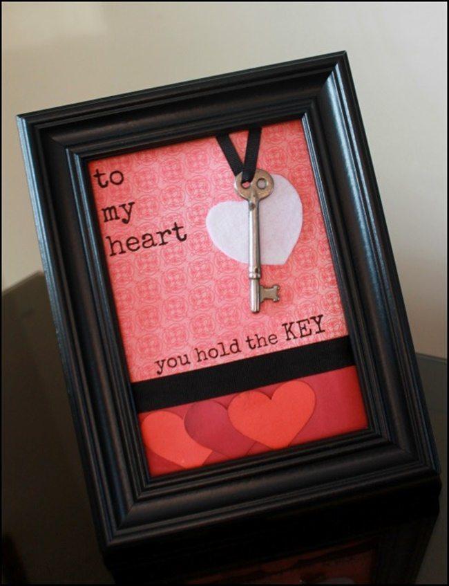 framed-key-to-my-heart-craft2lookwhatmomfound