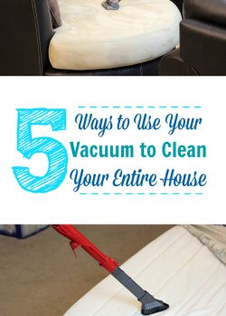 5 Ways to Use a Vacuum to Clean Your Entire House