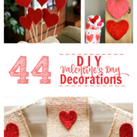 44 DIY Valentine's Day Decor Projects