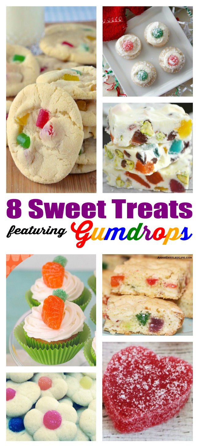 Sweet tooth? Don't miss these sugary sweets! 8 Recipes to Celebrate National Gumdrop Day