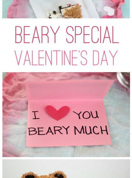"""Have a """"beary"""" special Valentine's day with this over the top CUTE ideas."""