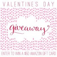 $50 Amazon Gift Card Valentines Day Giveaway!