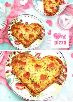 Heart Shaped Pizza For Your Sweetie