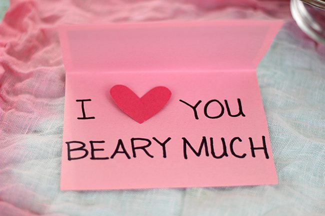 "Have a ""beary"" special Valentine's day with this over the top CUTE ideas."