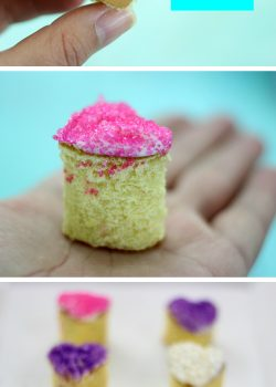 Cuteness Alert: Mini Heart Cakes