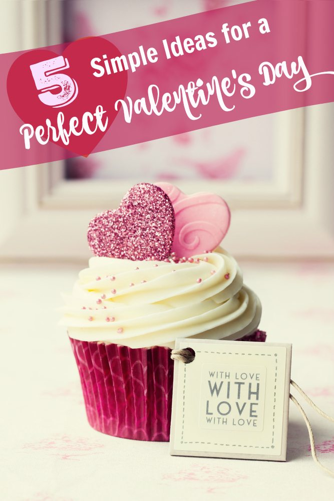 At a loss on how to celebrate Valentine's Day? Keep it simple but special w/ these 5 ideas.