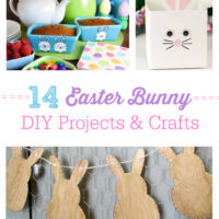 14 Easter Bunny DIY  Projects and Crafts