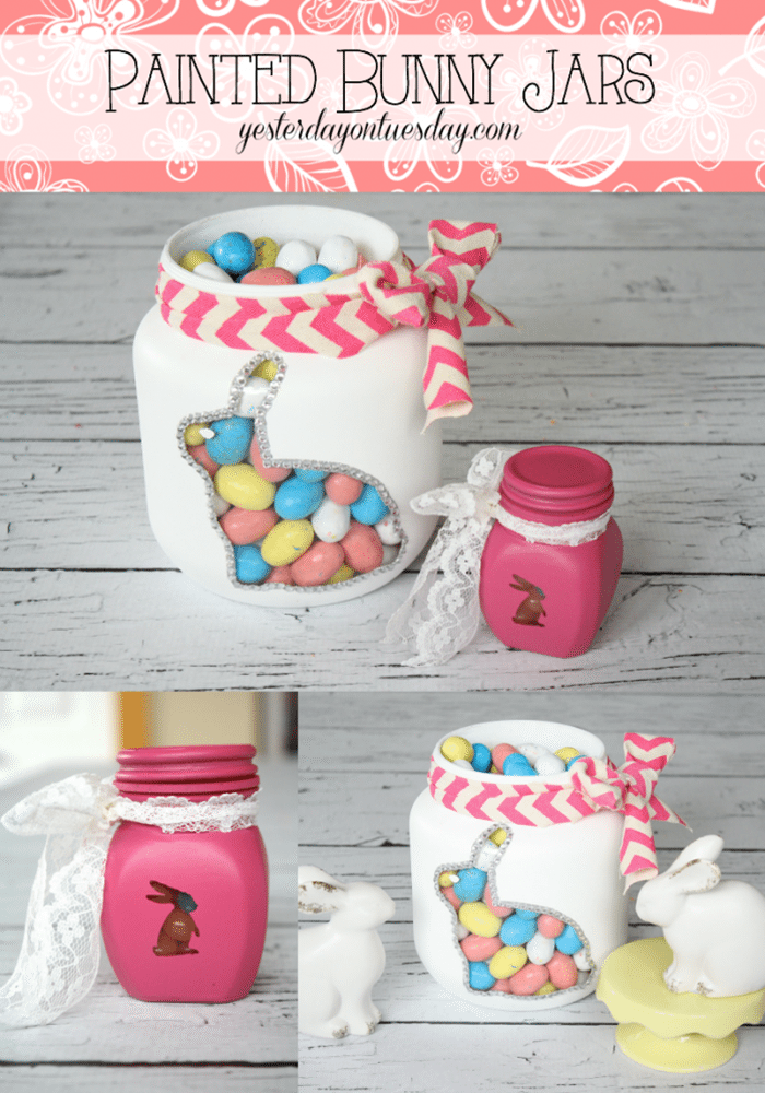 Painted-Bunny-Jars-6yesterdayontuesday