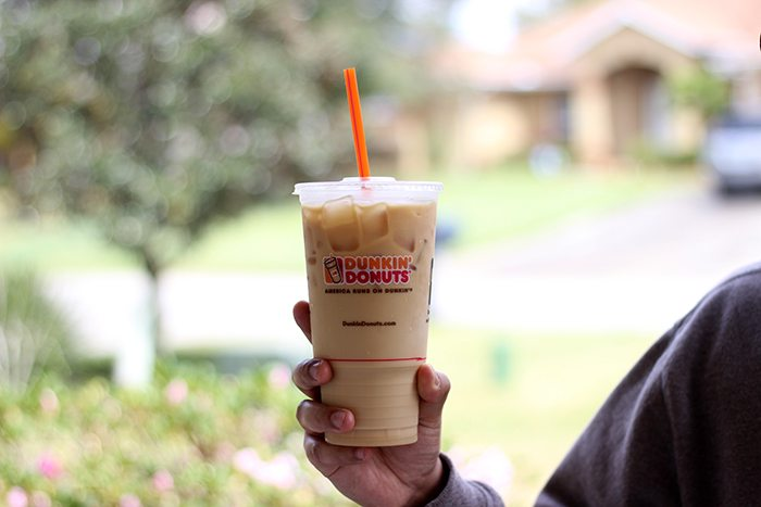 Spring break in a cup? Check out these epic new coffee flavors at Dunkin Donuts. Pistachio iced coffee is out of this world.