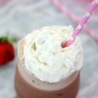 Quick Fix: Strawberries & Cream Iced Coffee