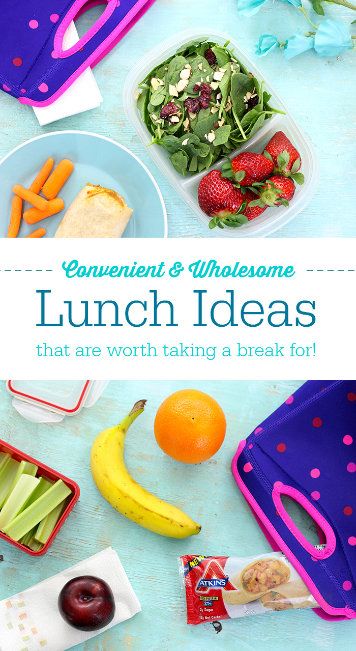 Convenient and wholesome lunch ideas that are worth taking a break always on the go tell me about it here are some totally convenient and forumfinder Image collections
