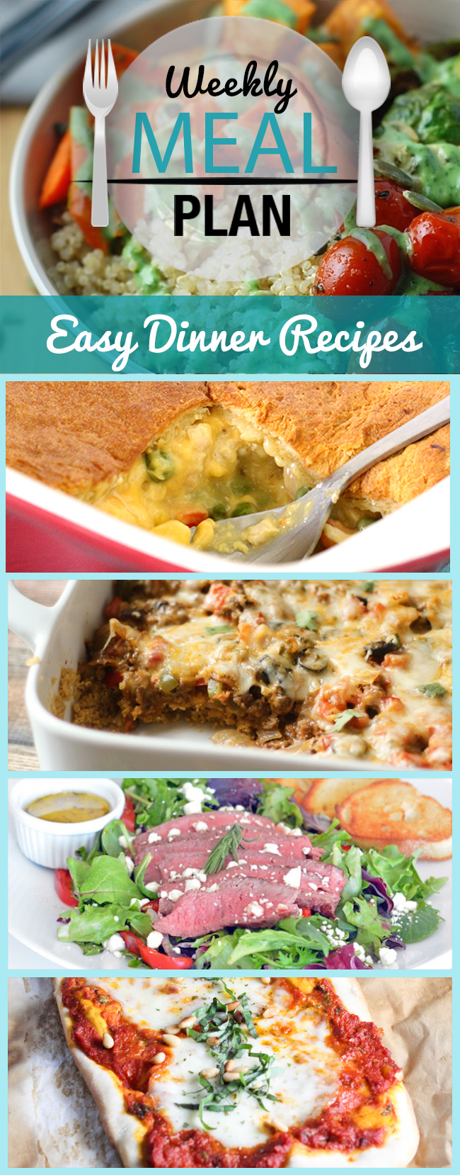 Dinner feeling stressful? Turn that around with this list of super easy recipes you can make this week!