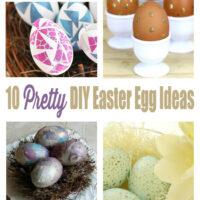 10 Pretty DIY Easter Egg Decorating Ideas