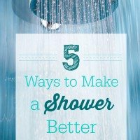 These 5 Things Make Taking a Shower Way Better