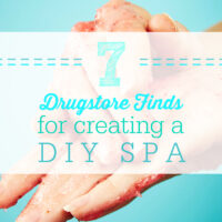 7 Drugstore Finds for Creating a DIY Spa