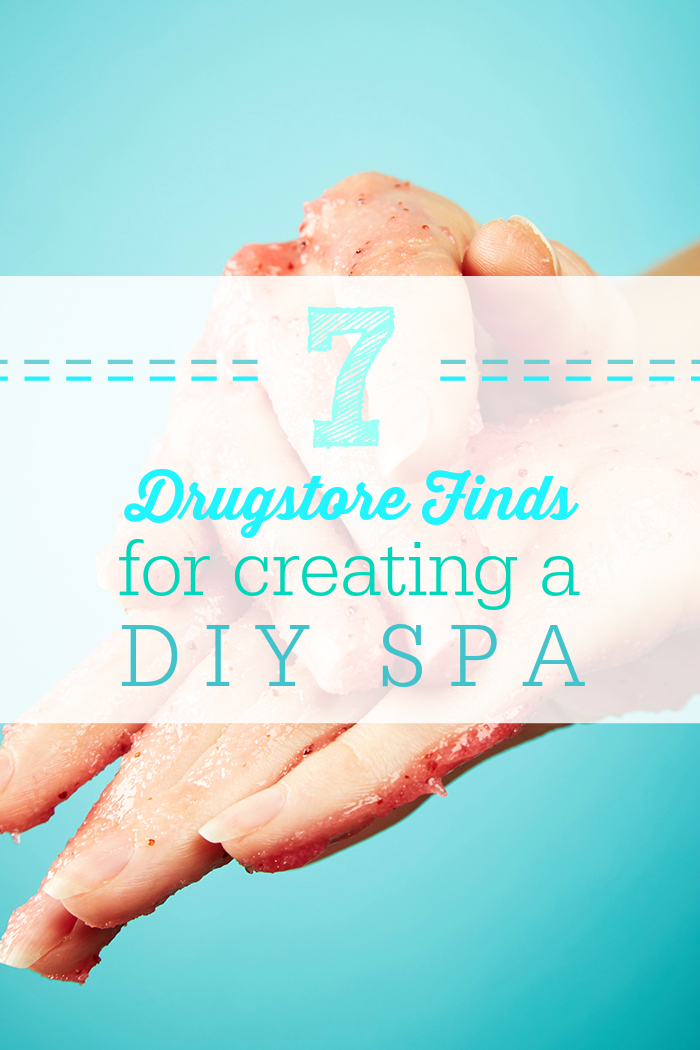 Spoil yourself with a quick trip to CVS where you'll find these DIY spa hot picks.
