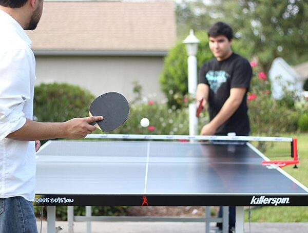 Getting Teens Unplugged with Killerspin Ping Pong