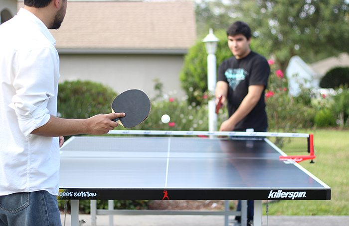 Getting Teens Unplugged With Killerspin Ping Pong Cutefetti