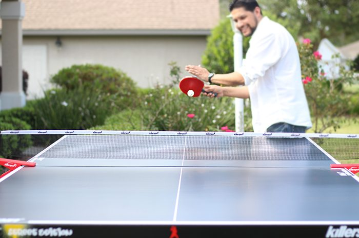 Killerspin Indoor/Outdoor Ping Pong Table Fun