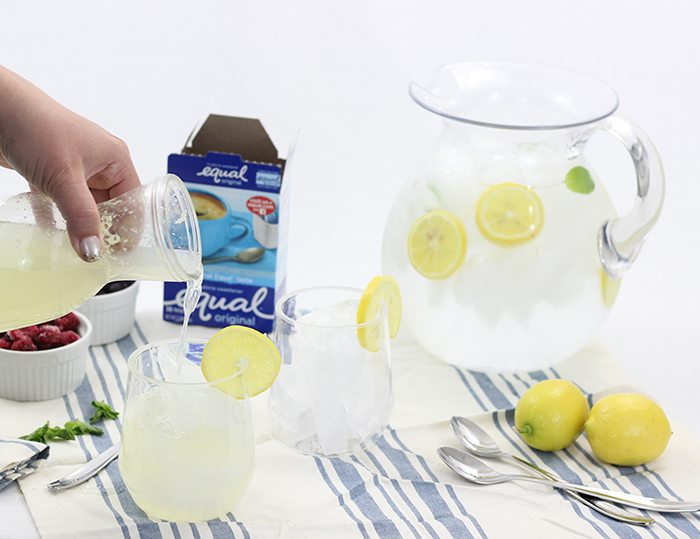 Make this amazing Sparkling Lemonade that's freshly squeezed. Delicious and easy to make for two.