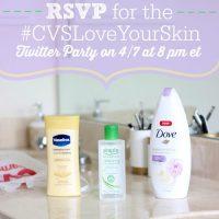 RSVP for The #CVSLoveYourSkin Twitter Party