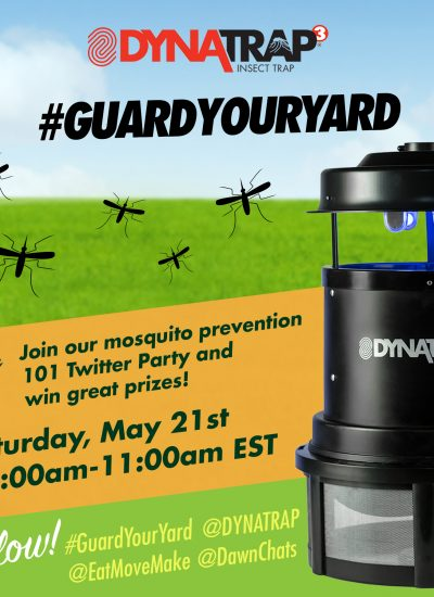 Join the #GuardYourYard Twitter Party & Get Your Yard Back