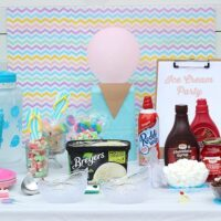 Super Sweet Ice Cream Party Ideas