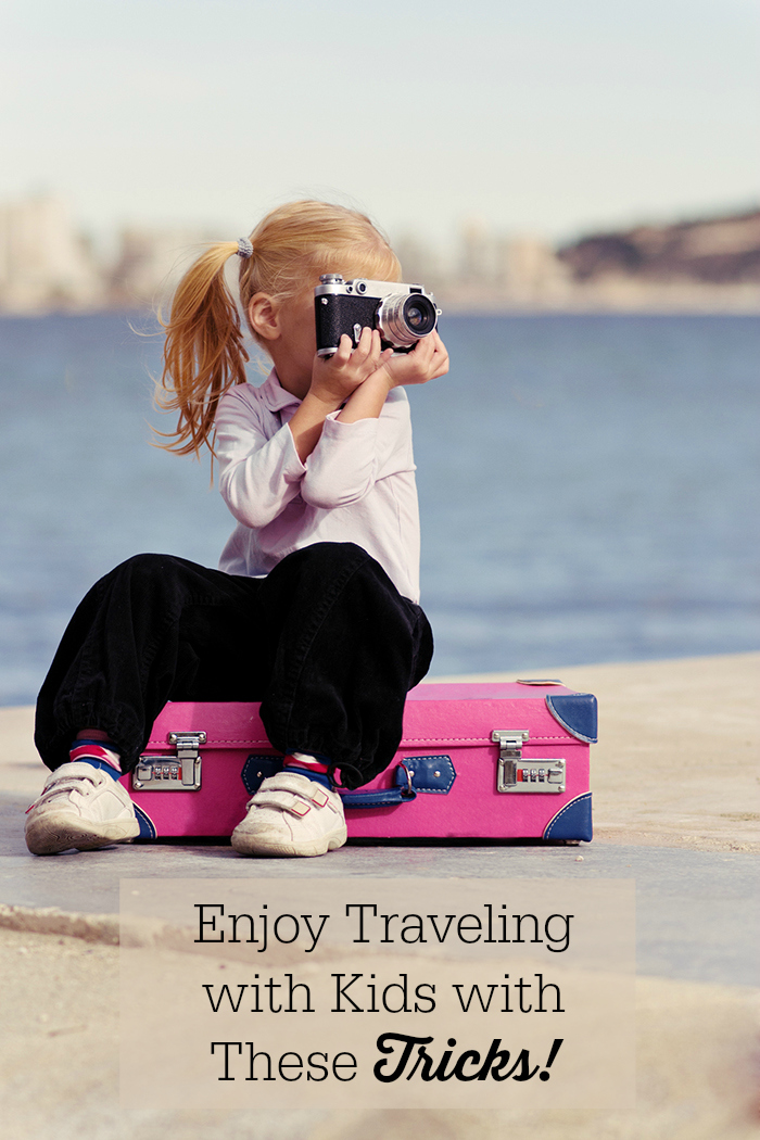 Tricks to learn to enjoy the entire journey when traveling with young kids.