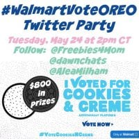 RSVP for the #WalmartVoteOREO Twitter Party!