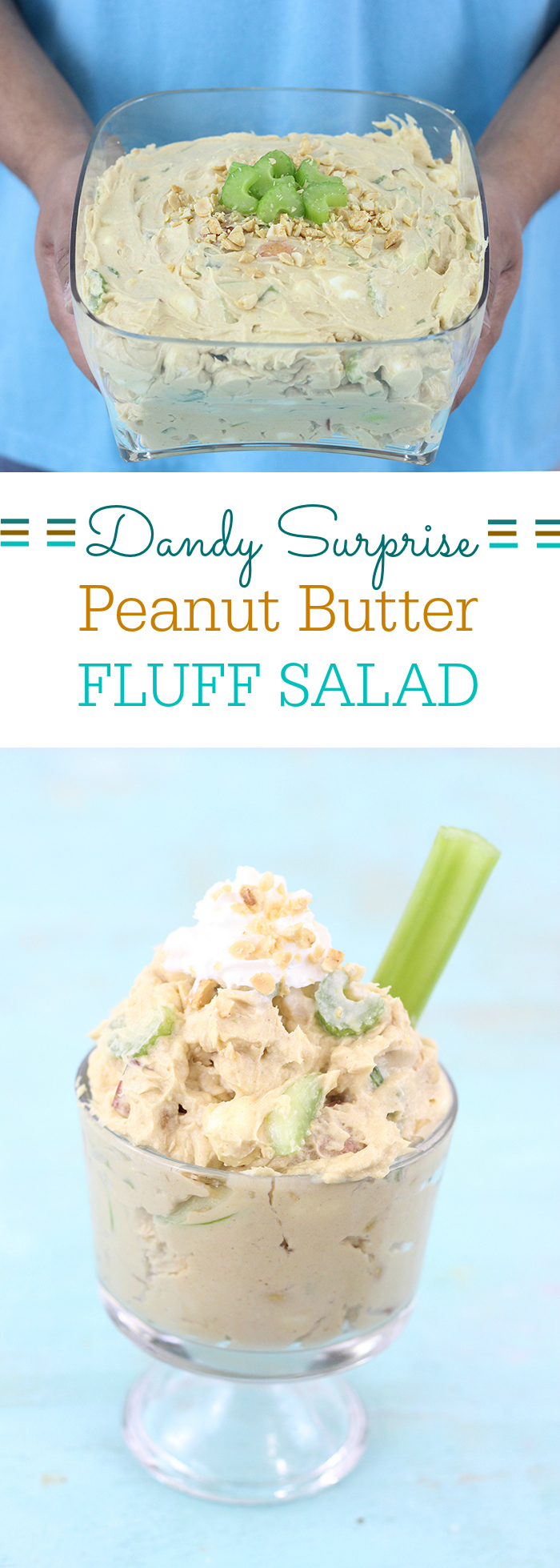 A whole new way to enjoy Fluff Salad! This version is TO DIE FOR! It's crunchy! Plus, who said you can't squeeze veggies in for dessert?