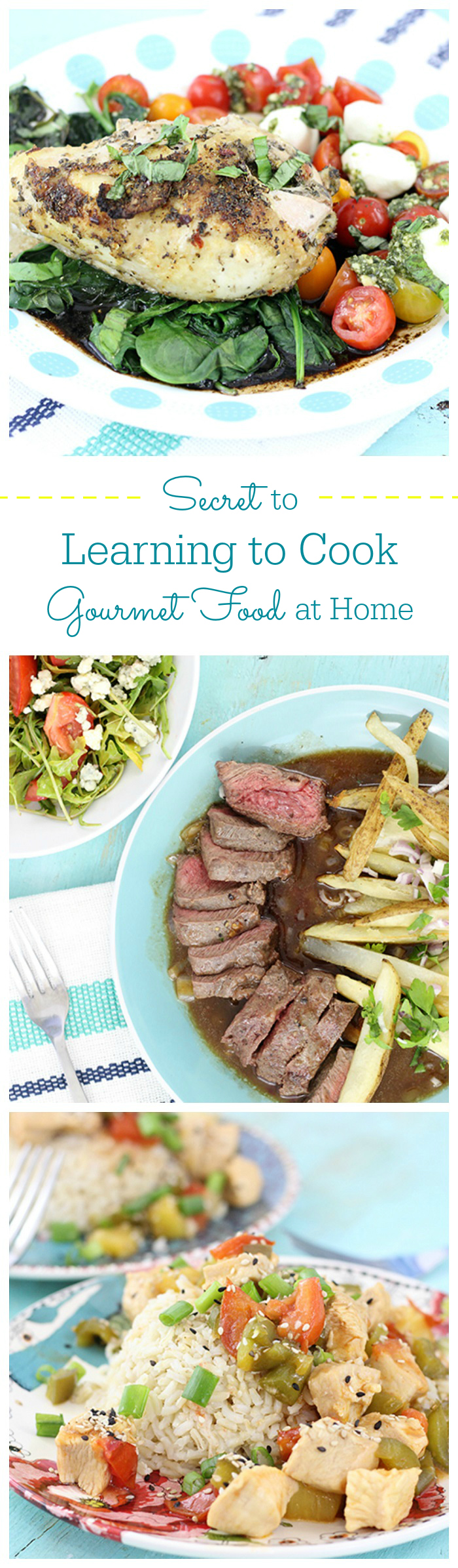 Secret to learning to cook gourmet food at home for Gourmet meals to make at home