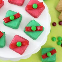 Christmas Gift Box Cookies